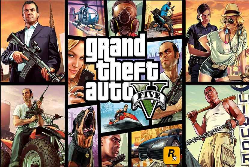 Grand Theft Auto 5 Rpack-Games Downlaod