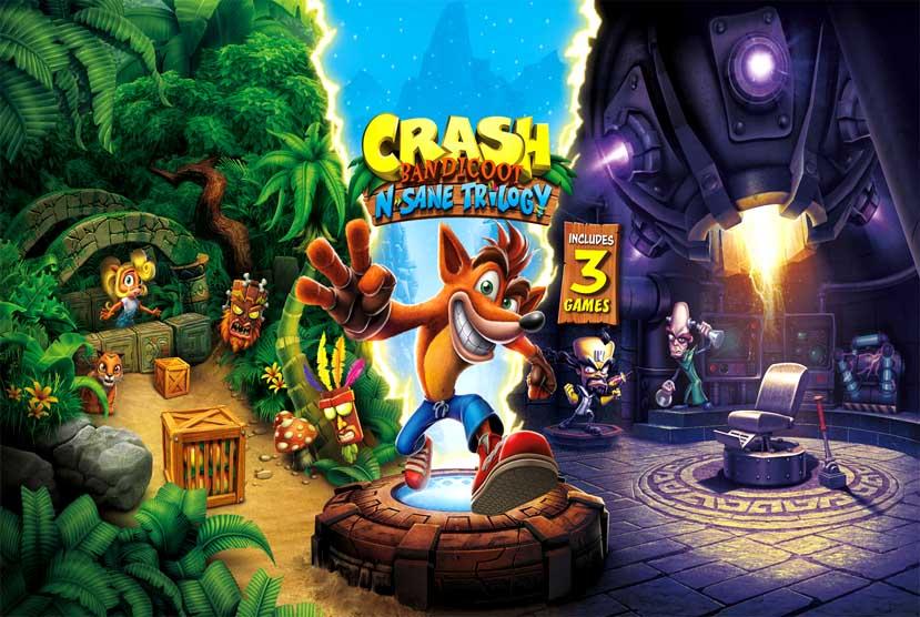 Crash Bandicoot N Sane Trilogy Free Download Torrent Repack-Games