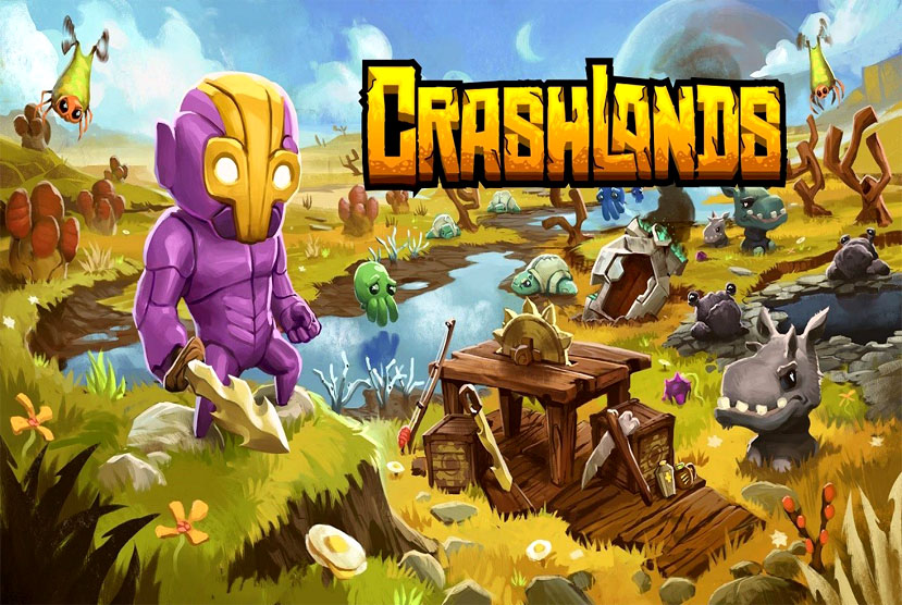 Crashlands Free Download Torrent Repack-Games