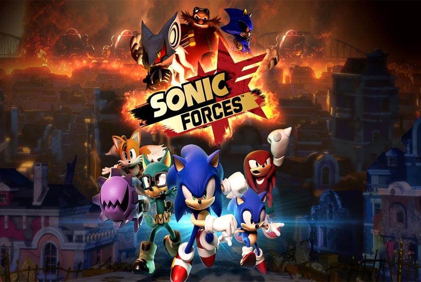 Sonic Forces Free Download CPY Repack-Games