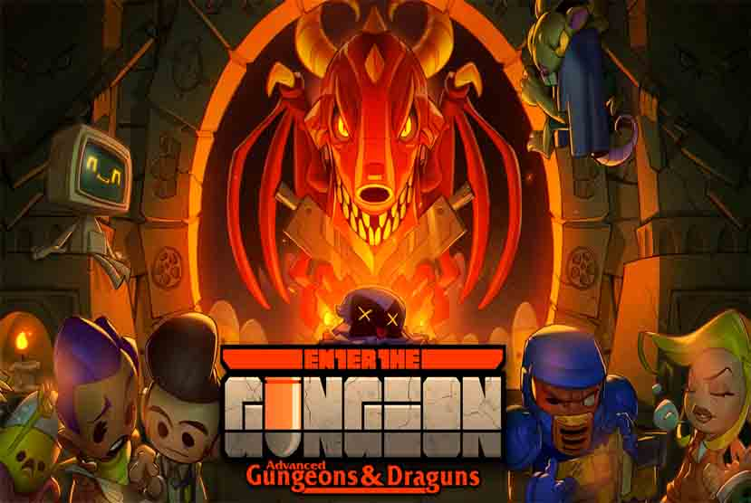 Enter the Gungeon Free Download Torrent Repack-Games