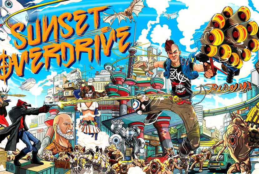 Sunset Overdrive Free Download Repack-Games