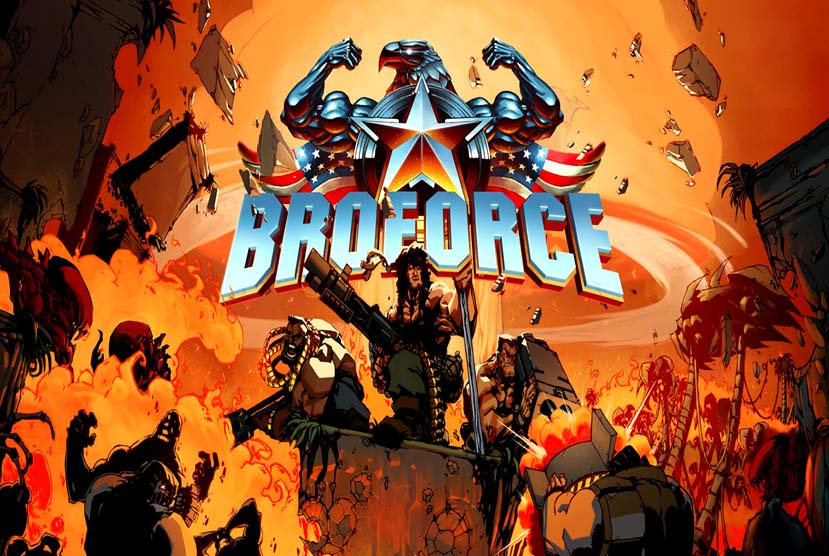 Broforce Free Download Torrent Repack-Games
