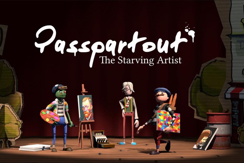 Passpartout The Starving Artist Repack-games