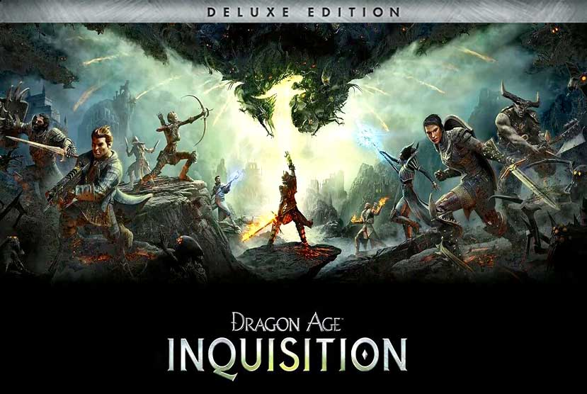 Dragon Age Inquisition Deluxe Edition Crack Repack-Games