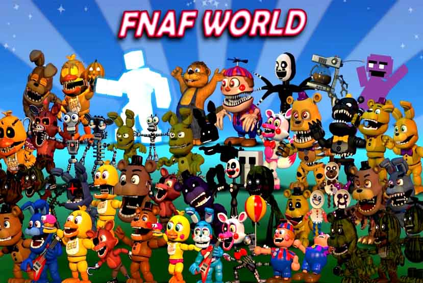 FNaF World Free Download Torrent Repack-Games