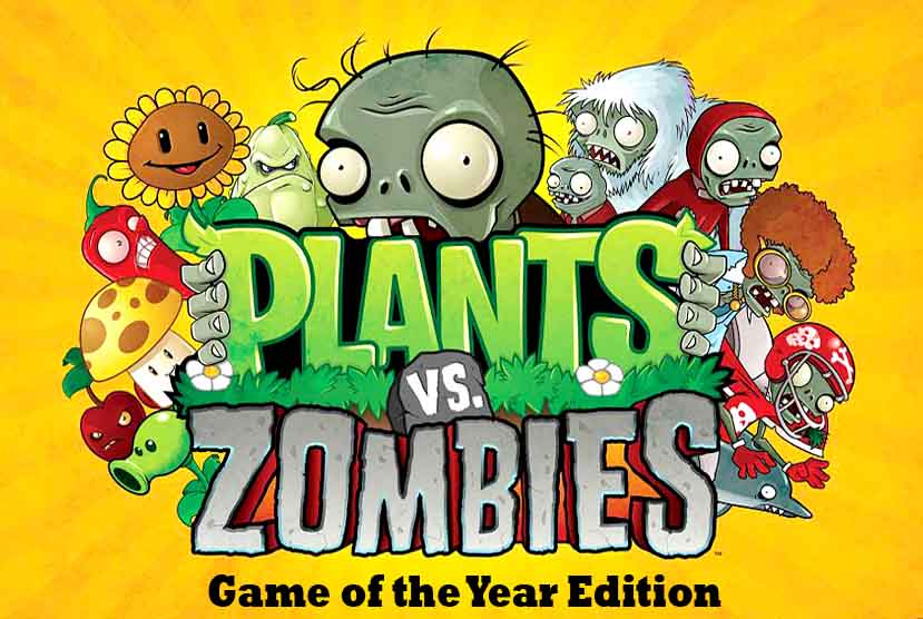 Plants VS Zombies Game Of The Year Edition Free Download Torrent Repack-Games