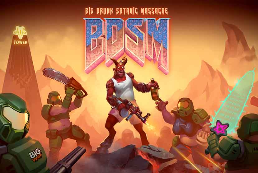 BDSM Big Drunk Satanic Massacre Free Download Torrent Repack-Games