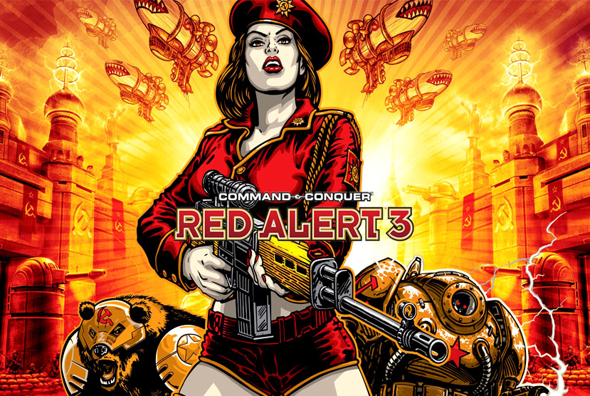 Command & Conquer Red Alert 3 Free Download Torrent Repack-Games