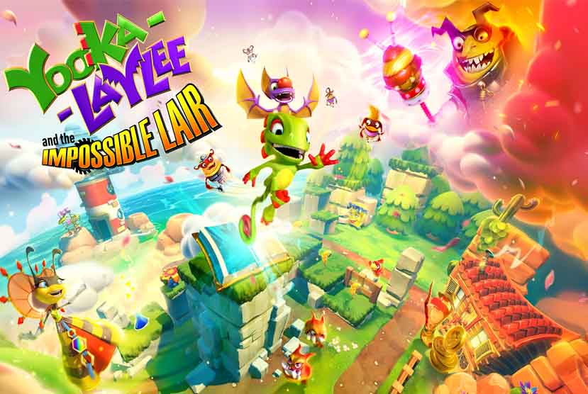Yooka-Laylee and the Impossible Lair Free Download Torrent Repack-Games