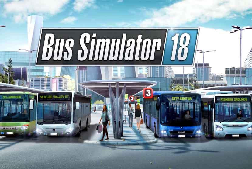 BUS SIMULATOR 18 Free Download Torrent Repack-Games