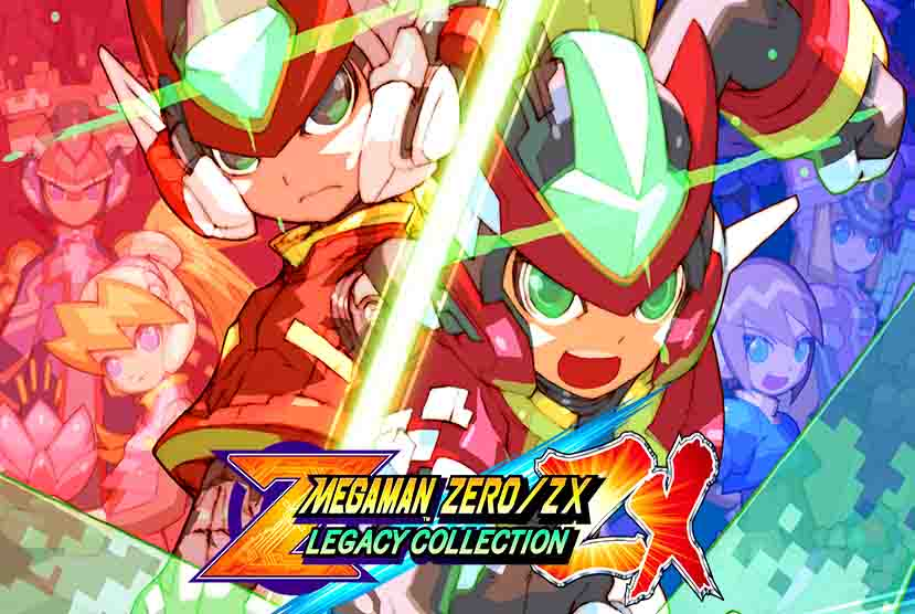 Mega Man Zero ZX Legacy Collection Free Download Torrent Repack-Games