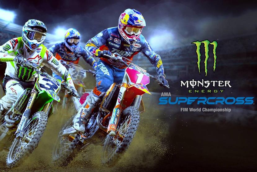 Monster Energy Supercross- Repack-Games