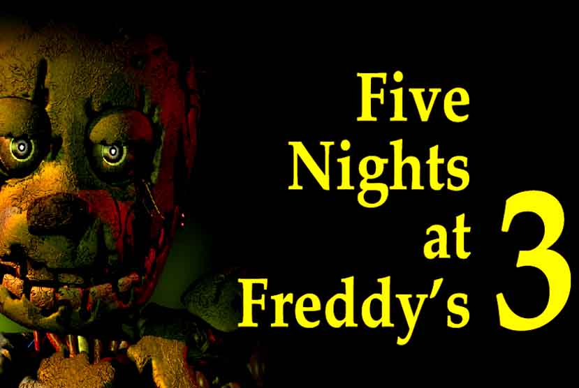 Five Nights at Freddys 3 Free Download Torrent Repack-Games