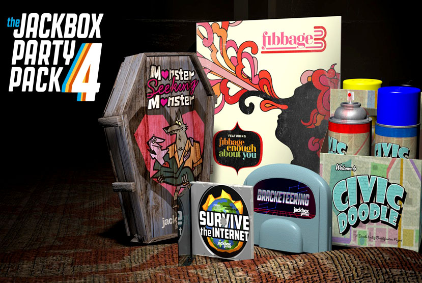 The Jackbox Party Pack 4 Free Download Torrent Repack-Games