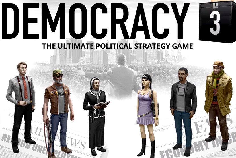 Democracy 3 Free Download Torrent Repack-Games