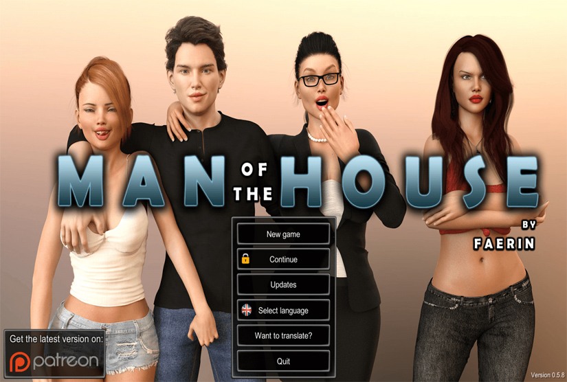 Man of the House Repack-Games