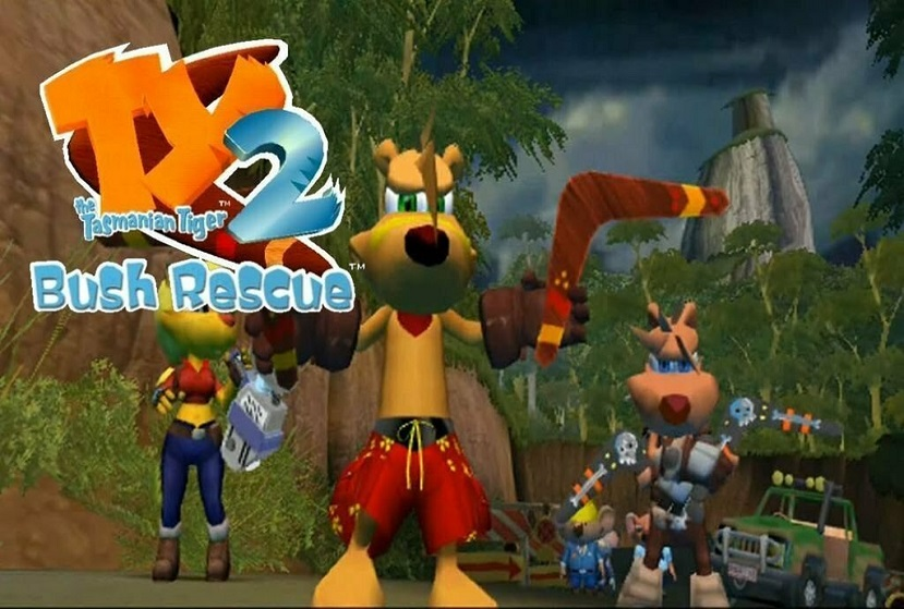 TY the Tasmanian Tiger 2 Bush Rescue Us PC Game Free Download
