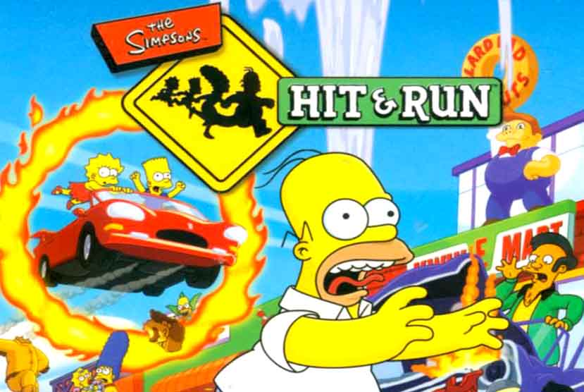 The Simpsons Hit & Run Free Download Pre-Installed Repack-Games