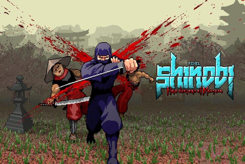 Pixel Shinobi Nine demons of Mamoru Free Download Torrent Repack-Games