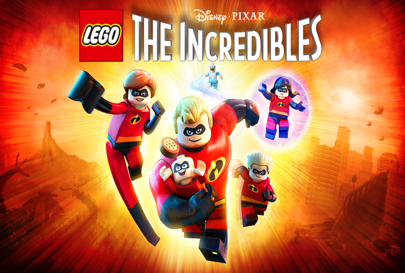 LEGO The Incredibles Repack-Games