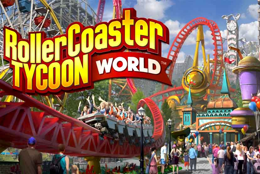 RollerCoaster Tycoon World Free Download Torrent Repack-Games