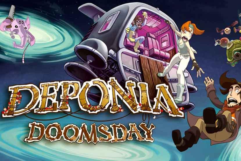 Deponia Doomsday Free Download Torrent Repack-Games