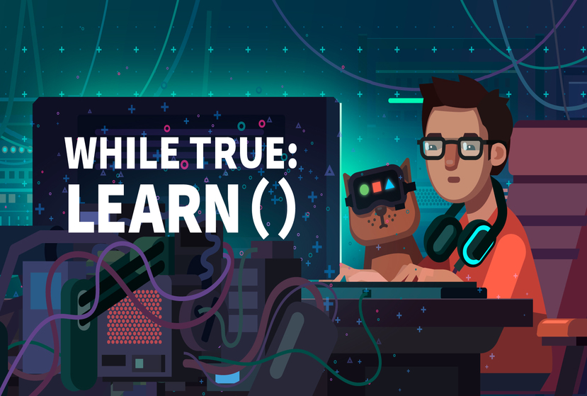 while True: learn() Repack-Games