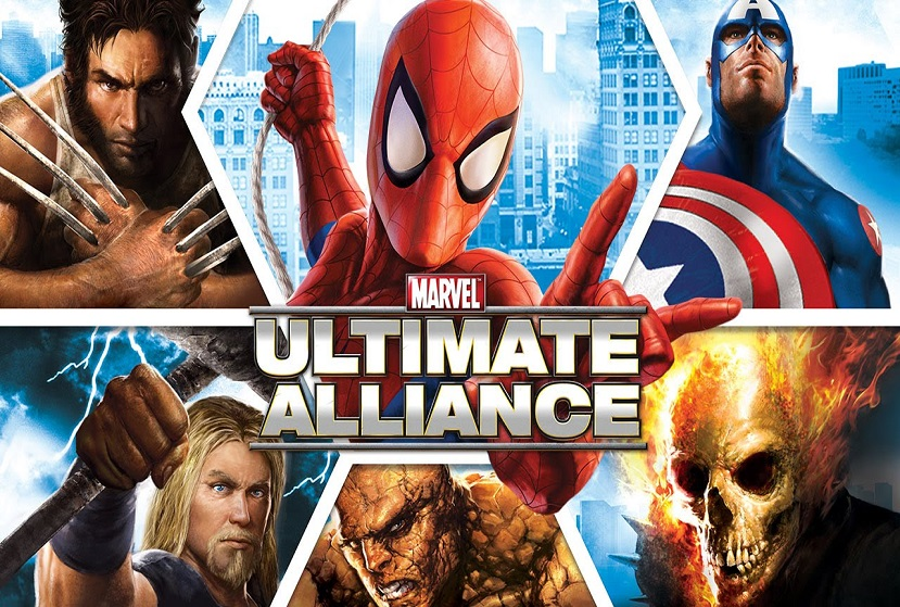 Marvel Ultimate Alliance Repack-Games