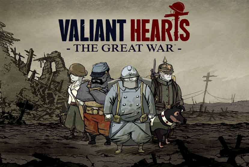 Valiant Hearts The Great War Free Download Torrent Repack-Games