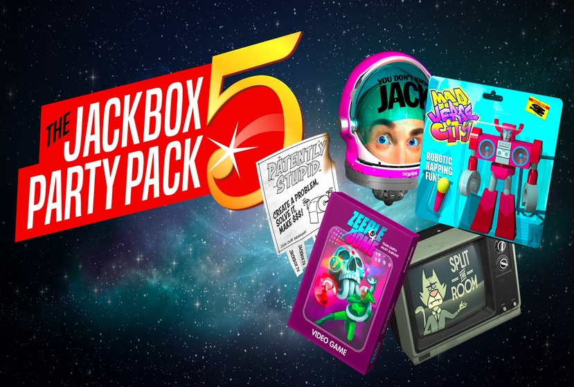 The Jackbox Party Pack 5 Repack-Games
