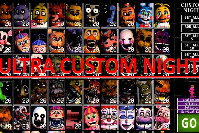 Ultra Custom Night Free Download Torrent Repack-Games
