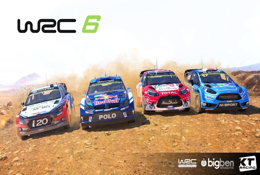 WRC 6 FIA World Rally Championship Repack-Games