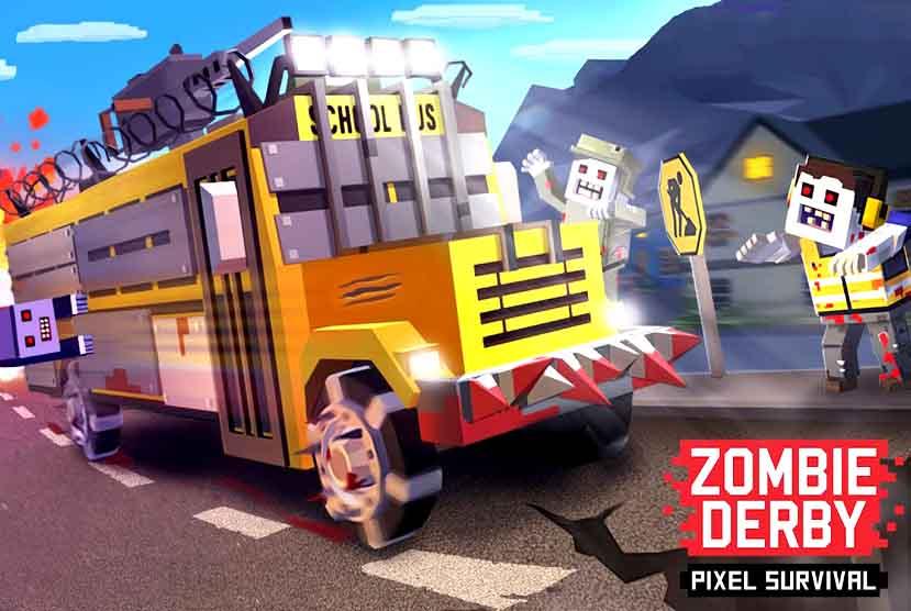 Zombie Derby Pixel Survival Free Download Torrent Repack-Games