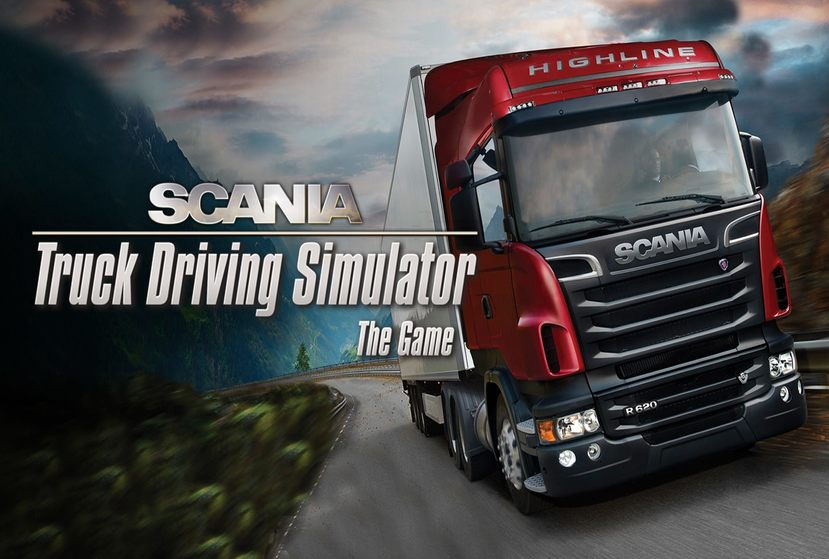 Scania Truck Driving Simulator Repack-Games