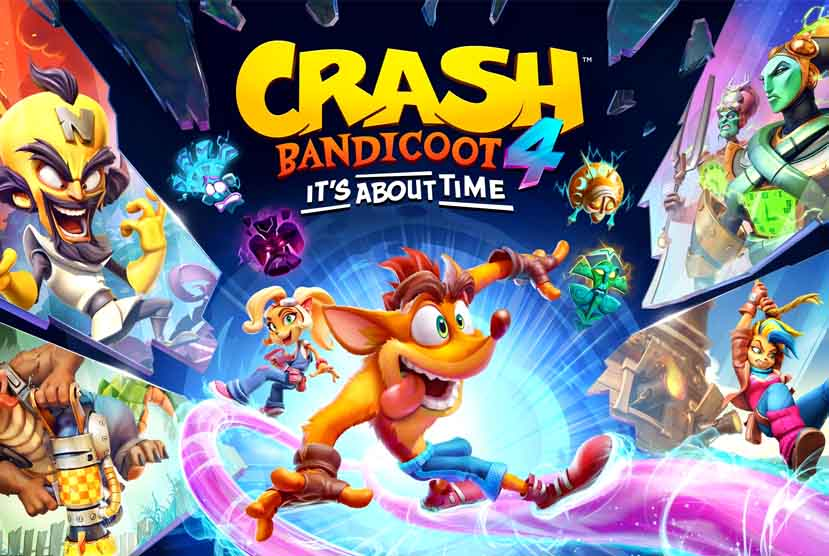 Crash Bandicoot 4 Its About Time Free Download Pre-Installed Repack-Games