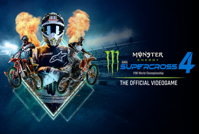 Monster Energy Supercross - The Official Videogame 4 Repack-Games