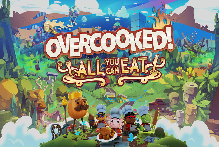Overcooked! All You Can Eat Repack-Games
