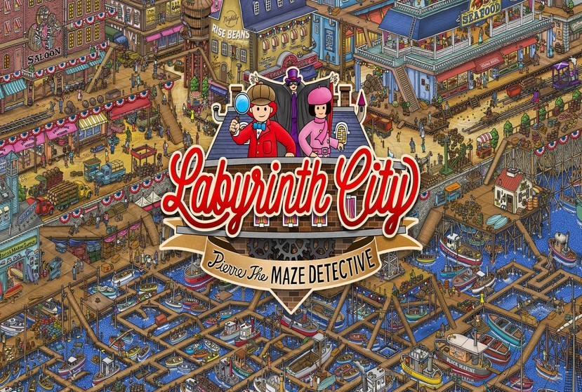 Labyrinth City: Pierre the Maze Detective Repack-Games