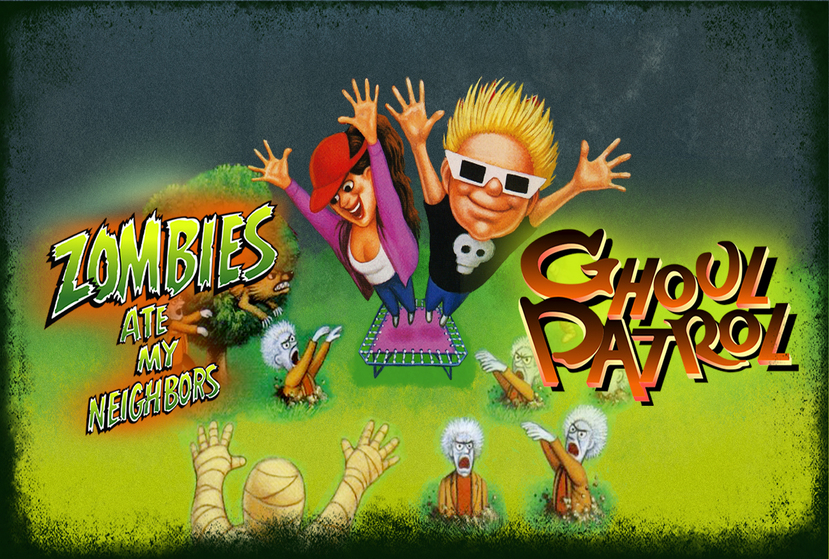 Zombies Ate My Neighbors and Ghoul Patrol Repack-Games