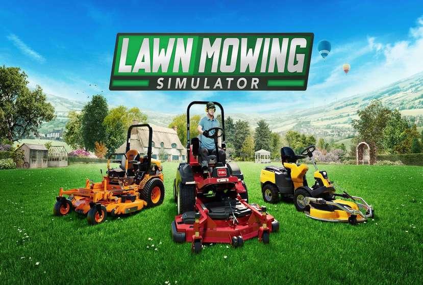 Lawn Mowing Simulator Repack-Games