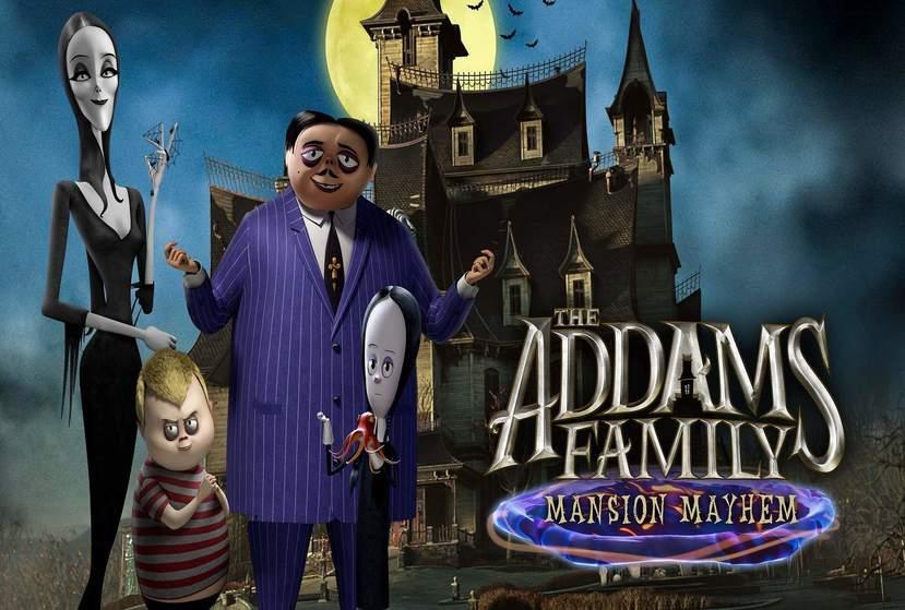 The Addams Family: Mansion Mayhem Repack-Games